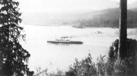 S.S. Princess Patricia [passing through First Narrows]