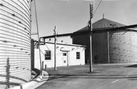 [Exterior of pumphouse at Boeing Aircraft plant, Sea Island]