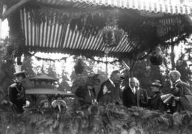 Lord Byng's farewell visit [in Stanley Park]