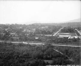 [View of West End from Georgia and Hornby Streets]