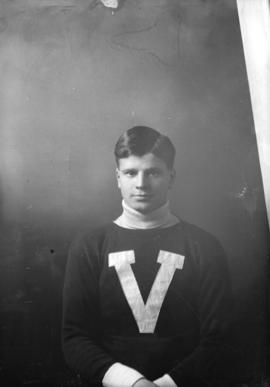 Unidentified Vancouver Lacrosse Club player