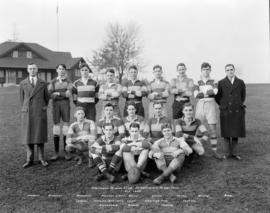 Vancouver Rowing Club Intermediate Rugby Team - November 1929