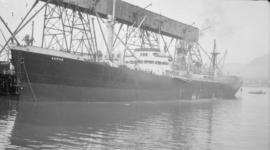 S.S. Akron [at dock]