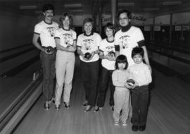 "Group at ""Big Brothers Bowl for Millions"" event"