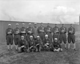 Vancouver Baseball Team spring Training [group photograph]