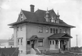 [Exterior of W.F. Salsbury's residence - 1340 Burnaby Street]