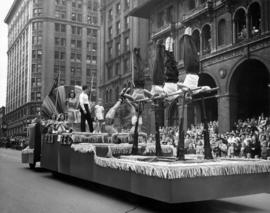 Pro-Rec float in 1948 P.N.E. Opening Day Parade