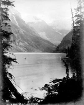 A Glimpse of Lake Louise