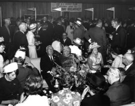 1966 Derby Day : [crowd at Derby Day Breakfast]