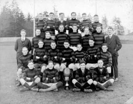 [Group portrait of] King George High School Inter High School Intermediate Rugby Champions Large ...