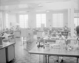 Departments; Technical control, no. 1 laboratory; Taken for UBC brochure 1962