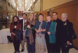 Paul Yee and others at National Library of Canada for MASC award