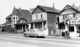 [Residences - 1156 to 1161 on Hornby Street looking north]