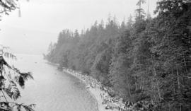 [View of Third Beach at Stanley Park]