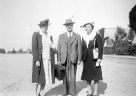 John [Davidson], Mrs. McGinn and Mrs. Simpson