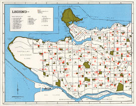 Map of City of Vancouver [City services locations]