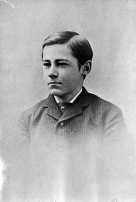 Benjamin Tingley Rogers in his teens