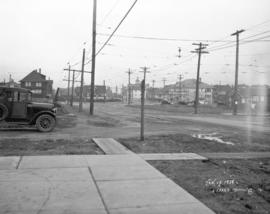 [View of Oak Street looking north from 16th Avenue]