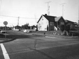 Slocan Street, west side, 1st to 2nd Avenues - view southwest
