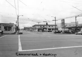 Commercial [Drive] and Hastings [Street looking] south