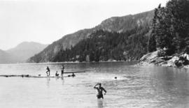 Vancouver Boys Club Association - Swimming at Camp Potlatch