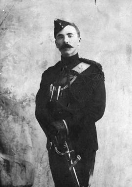 [Lieutenant William James Twiss in the uniform of the Kaslo Rifle Company]
