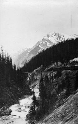Along the C.P.R. [Canadian Pacific Railway]