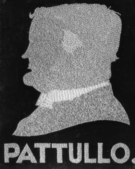 Hon. T.D. Pattullo, Prime Minister of British Columbia [silhouette in wheat]