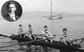 Vancouver Rowing Club Winners of Junior Four-Oared Race N.P.A.A.O. [North Pacific Association of ...