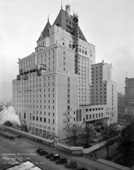 Canadian National Hotel [Hotel Vancouver from southwest corner]