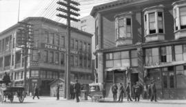[The north side of the intersection of Pender Street and Carrall Street]