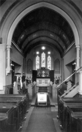 [Christchurch, Prestatyn, church interior]
