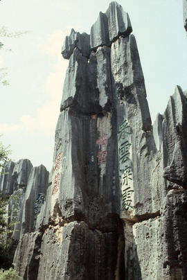 Locations - General : Karst Inscriptions Stone Forest Yunnan