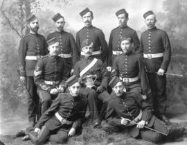 "[2nd Battalion, 5th Regiment, Canadian Garrison Artillery - winners of the ""Marching and Fir..."