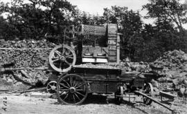 [Hadfield's Portable Rock Crushing Plant and Austin Pioneer Dump Wagon]