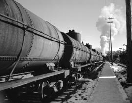 C.N.R. [Canadian National Railway] oil tank cars