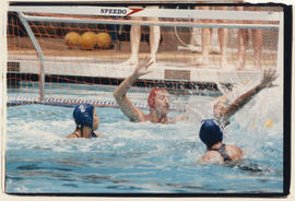 Water polo at the Vancouver Aquatic Centre