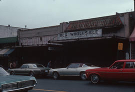 Produce wholesalers, 200 block Keefer Street