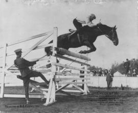 "Credential - Champion High Jumper of Pacific Coast -  Highest Jump 8'2 1/4"" - Owned and..."