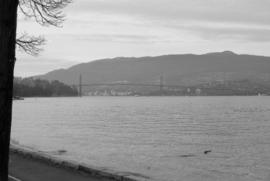 Lions Gate Bridge from Brockton Point