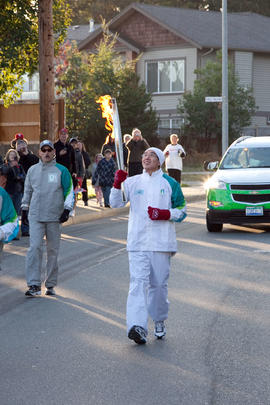 Day 003, torchbearer no. 046, Stephen Tam - Nanaimo