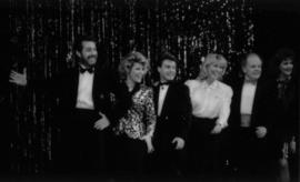 Dean Regan, Susan Skemp, Doug Adler, Sheril Morton, James Hibbard and unidentified woman on stage...