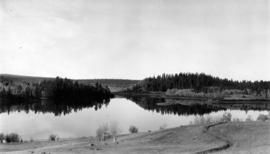 Lake on Cariboo Road