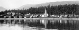 [View of] Sechelt [from the water]