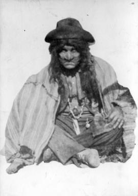 [Alfred T. Layne, actor, cross-legged as Indian?]
