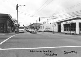 Commercial [Drive] and Venables [Street looking] south