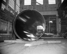 [Large boiler at Vancouver Iron Works Ltd.]