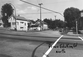 Prince Edward [Street] and King Edward [Avenue looking] north