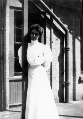 Miss Emily Edwardes, Nursing Sister, No. 5 Canadian General Hospital