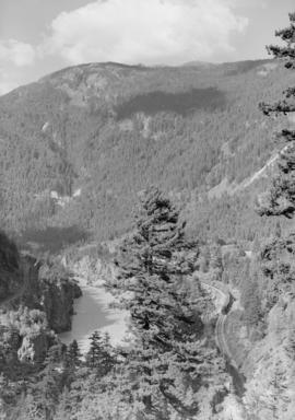 Hope B.C., historic site, Fraser Canyon, C.N.R.